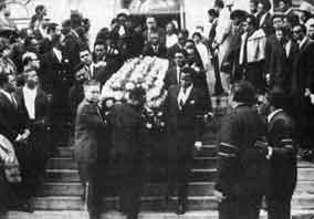 Otis Reddings Funeral