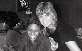 Nona Hendryx and Vicki Wickham