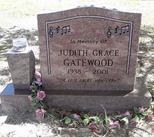 Judy Clay Resting Place
