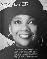 Discography and biography of ada dyer with videos song lyrics and with norman connors flyer stopboris Image collections