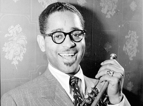 Young Dizzy Gillespie ...